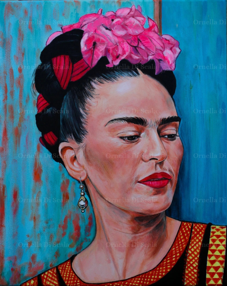 Frida Kahlo by velvetdressx